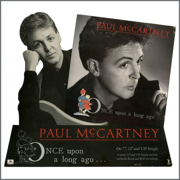 B27900 - Paul McCartney 1987 Once Upon A Long Ago Promotional Shop Display (UK)