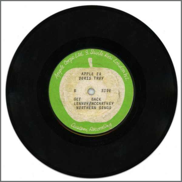 B27909 – Doris Troy – Jacob's Ladder/Get Back 1970 Apple Test Pressing (UK) 2