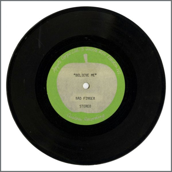 B27917 – Badfinger – 1970 Believe Me/No Matter What Apple Acetate (UK) 1