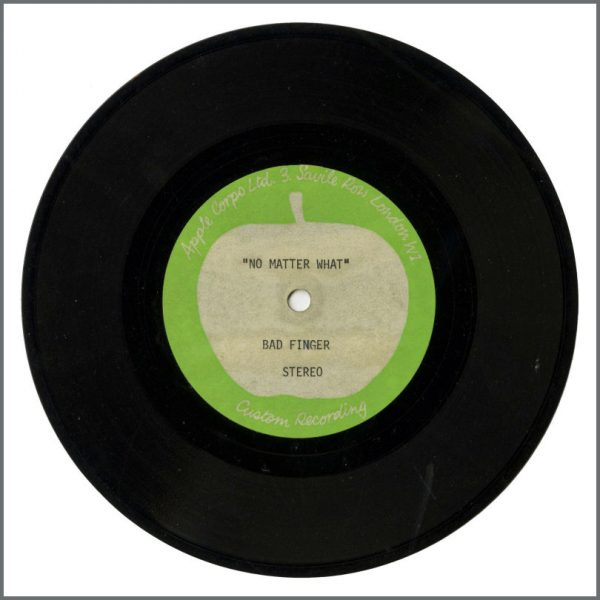B27917 – Badfinger – 1970 Believe Me/No Matter What Apple Acetate (UK) 2