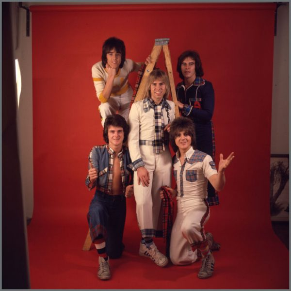B27934 - Bay City Rollers 1975 Colour Transparency With Copyright (UK)