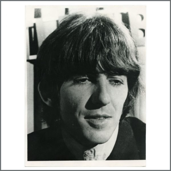 B27941 - George Harrison 1960s Vintage Photograph (UK)