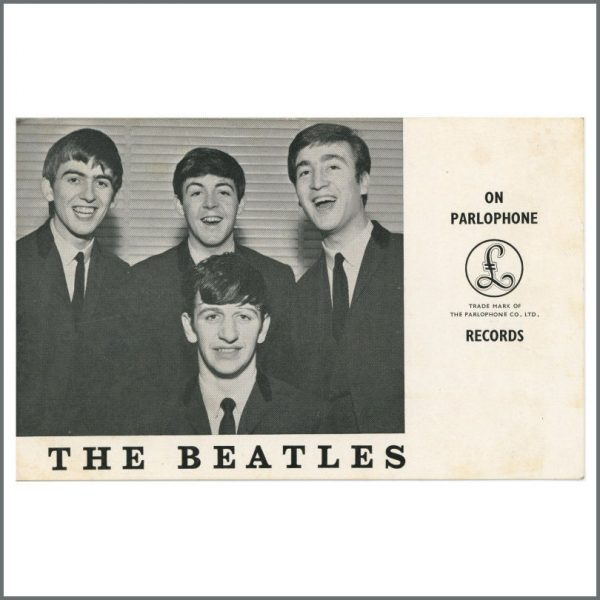B27991 - The Beatles 1963 Parlophone Promotional Card (UK)