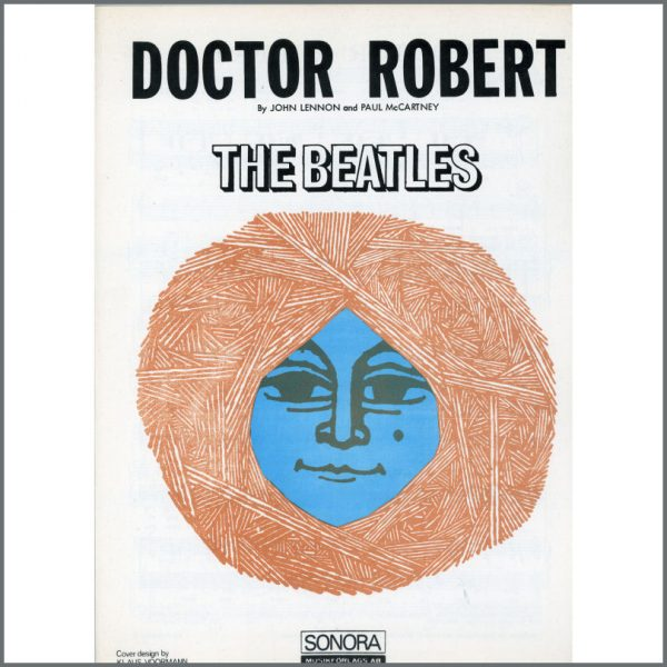 B25576 - The Beatles 1966 Doctor Robert Sonora Sheet Music (Scandinavia)