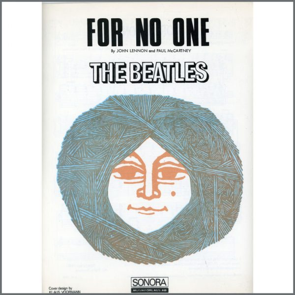 B25580 - The Beatles 1966 For No One Sonora Sheet Music (Scandinavia)