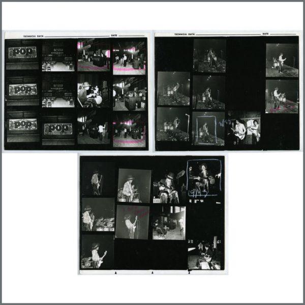 HEN0109 - Jimi Hendrix 1968 Monster Konzert Hallenstadium Contact Sheets (Switzerland)