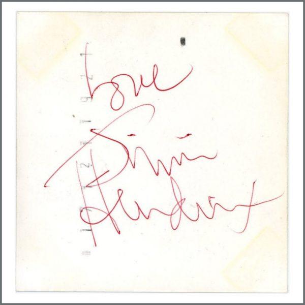 R&R SEPT 2018 HEN0116 - Jimi Hendrix 1967 Gothenburg Autographed Colour Photograph (Sweden)