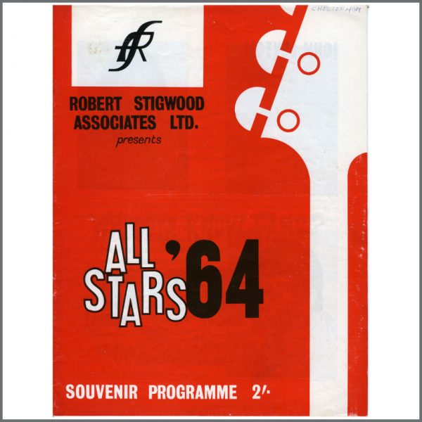 RS406 - Rolling Stones All Stars '64 Tour Programme (UK)