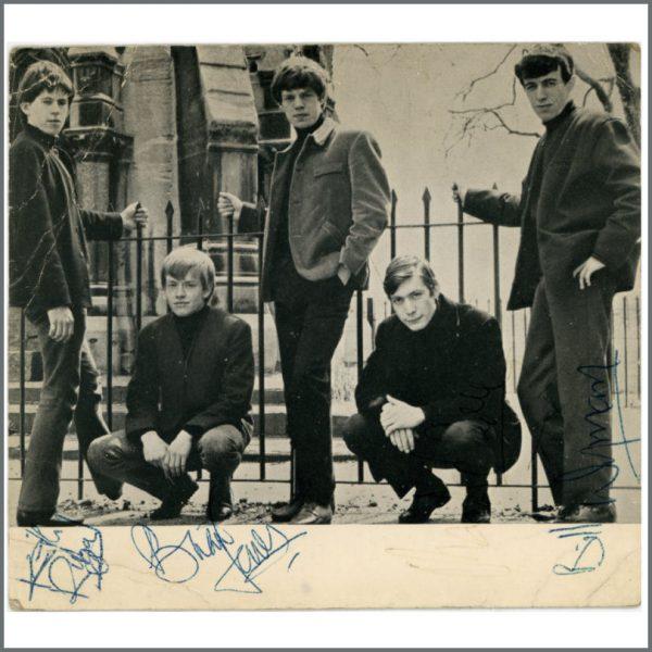 RS492 - Rolling Stones 1963/1964 Autographs (UK)