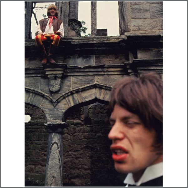 RS511 - Mick Jagger & Brian Jones 1968 Rolling Stones Beggar's Banquet Sarum Chase Modern Print (UK)