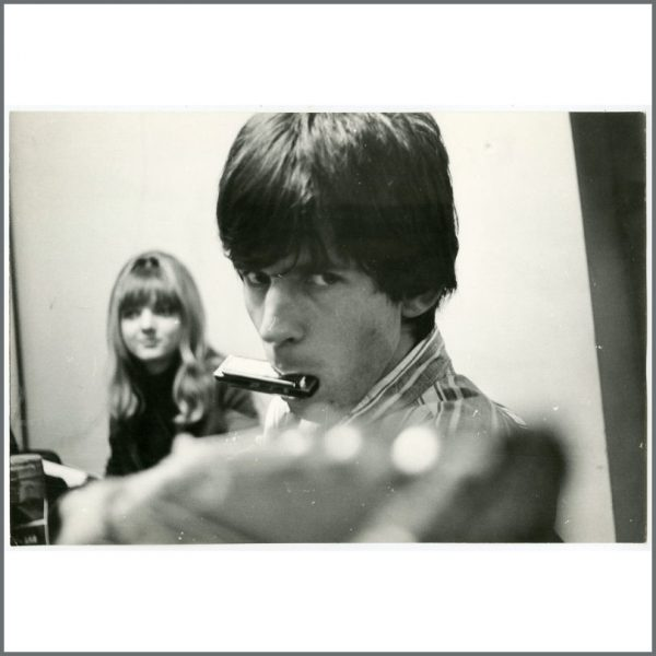 RS527 - Keith Richards 1960s Vintage Photograph (Germany)