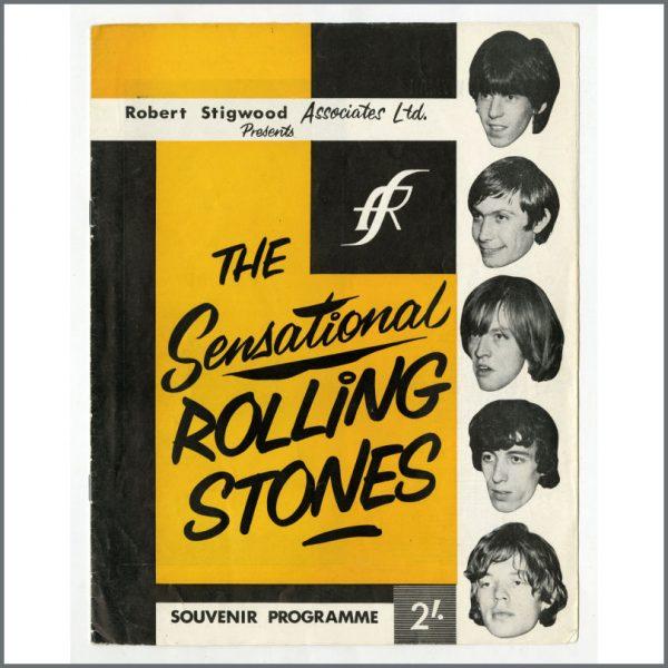RS533 - Rolling Stones 1964 Sensational Rolling Stones Tour Programme (UK)