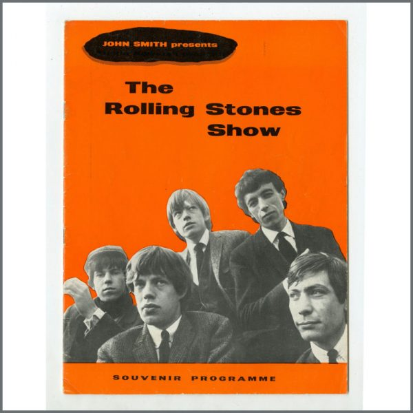 RS534 - Rolling Stones May 1964 Tour Programme (UK)