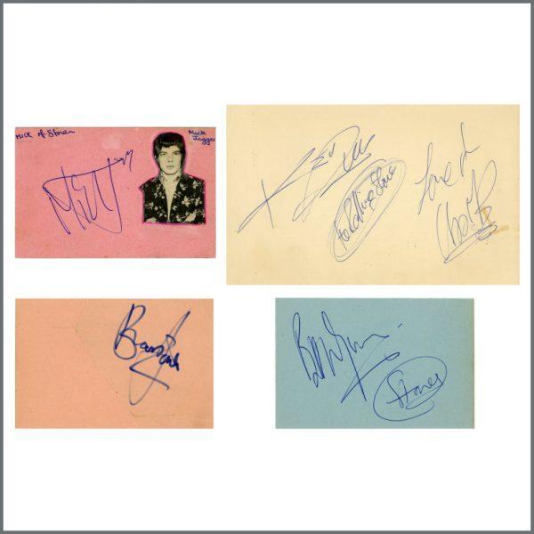 RS549 – Rolling Stones 1960s Autographs (UK) 1