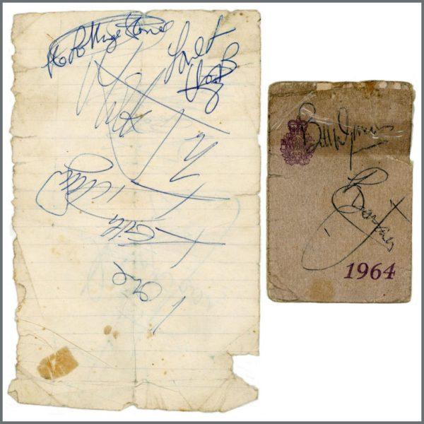RS550 - Rolling Stones 1960s Autographs (UK)