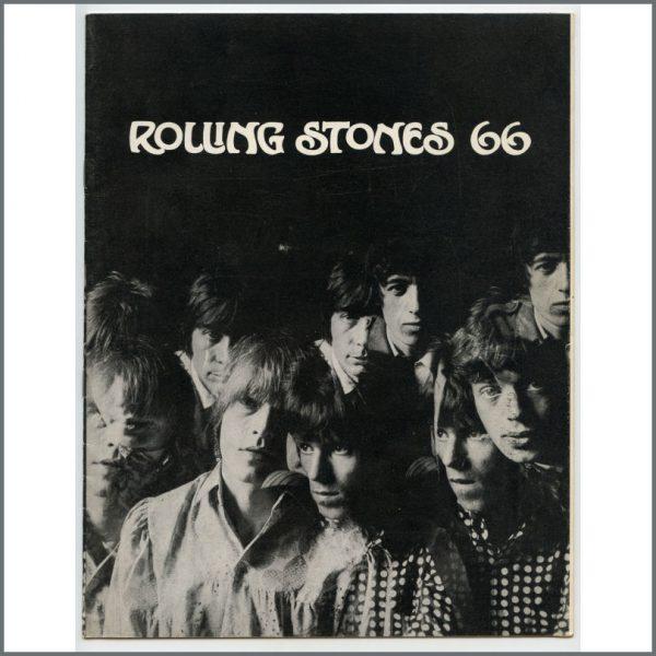 RS554 - Rolling Stones 1966 Souvenir Tour Programme (UK)