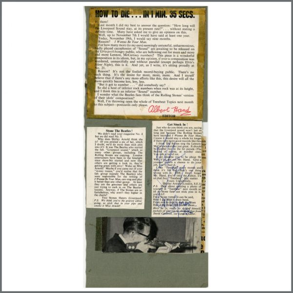 RS561 – Keith Richards Handwritten Letter To The Rolling Stones Fan Club Secretary 1963 & Mick Jagger/Bill Wyman Autographs (UK) 2