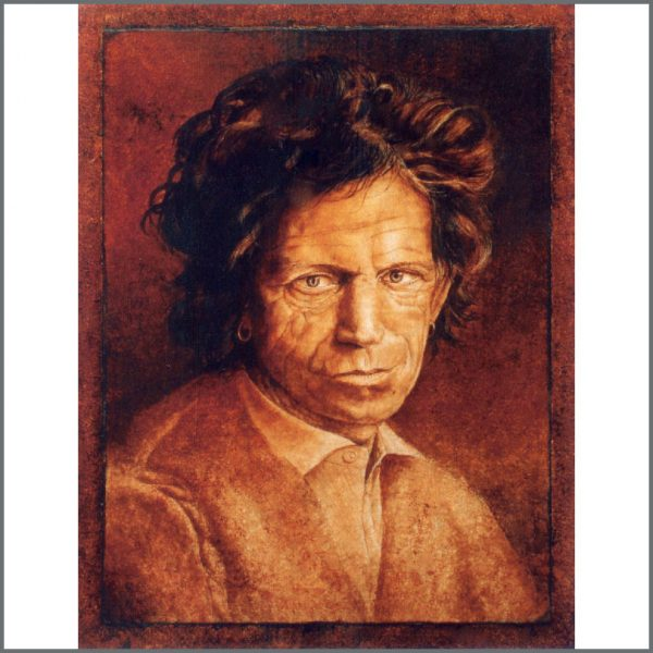 RS565 – Keith Richards Trevor Neal Painting (UK) 1