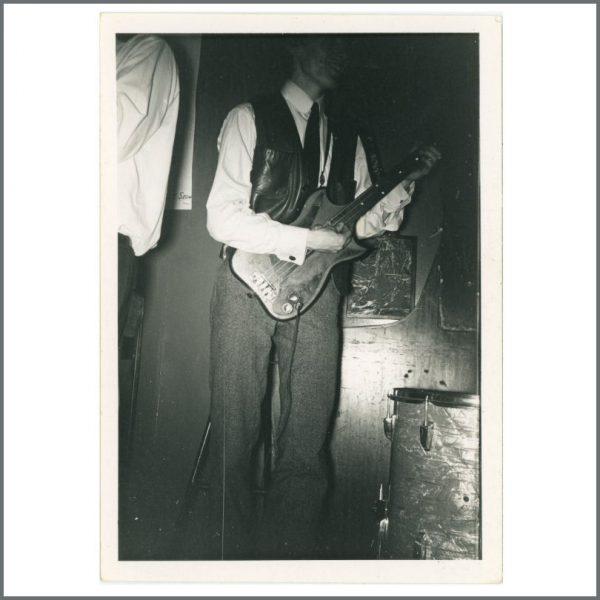 RS574 - Rolling Stones Bill Wyman 1963 Studio 51 Autographed Vintage Photograph (UK)