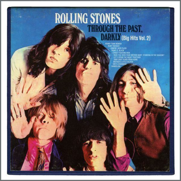 RS578 - Rolling Stones 1969 Through The Past, Darkly London Records Cine Reel Tape (USA)