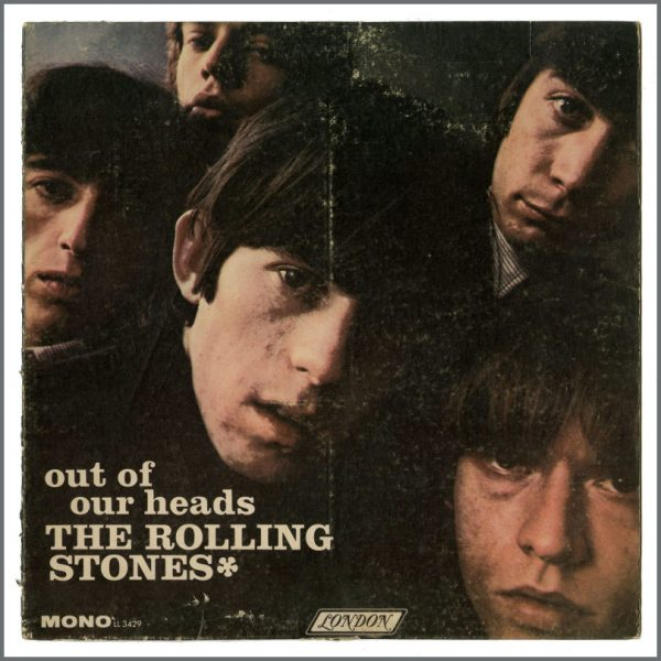 RS583 – Rolling Stones 1965 Out Of Our Heads Promotional Shop Display (UK) 1