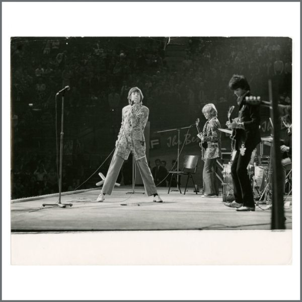 RS584 - Rolling Stones 1967 Bremen Stadthalle Vintage Photograph (Germany)