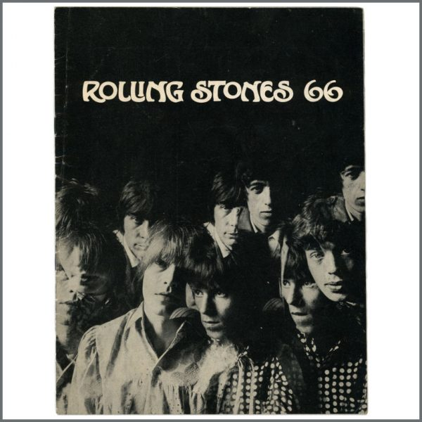 RS587 – The Rolling Stones 1966 Autographed Programme (UK) 2