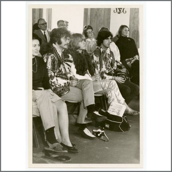 RS589 - Rolling Stones Brian Jones 1967 Vintage Photograph (Germany)