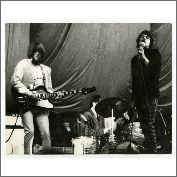 RS592 - Rolling Stones 1965 Hamburg Vintage Photograph (Germany)