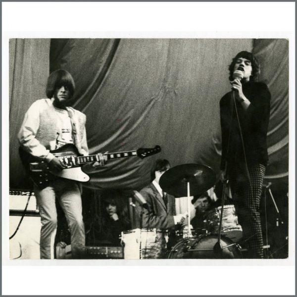 RS592 – Rolling Stones 1965 Hamburg Vintage Photograph (Germany) 1