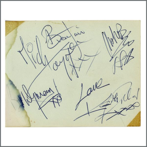 RS594 - The Rolling Stones 1964 Autographs (UK)