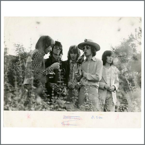 RS596 - Rolling Stones 1970 Copenhagen Vintage Photograph (Denmark)
