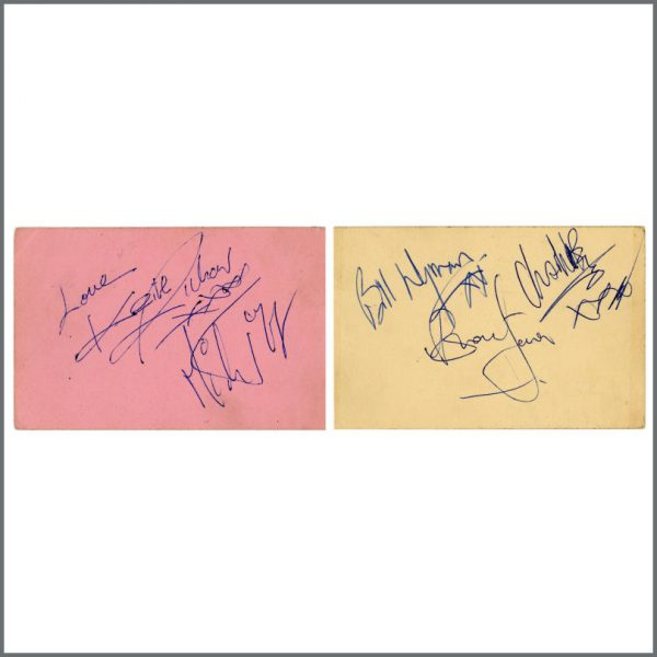 RS597 - Rolling Stones 1960s Signed Autograph Book Pages (UK)