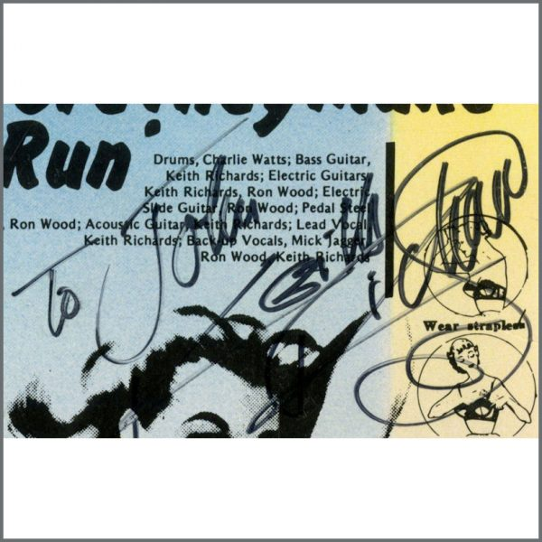 RS599 – Rolling Stones 1982 Autographed Some Girls LP (UK) 5