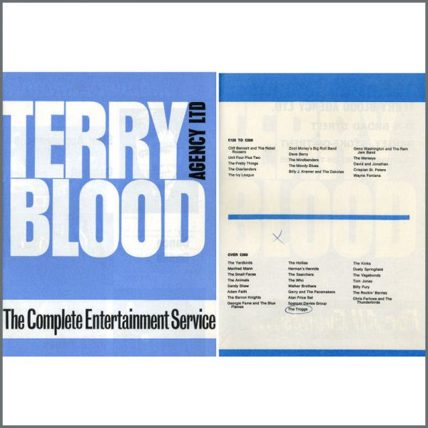 B20501 - Terry Blood Agency Entertainment Catalogue (UK)