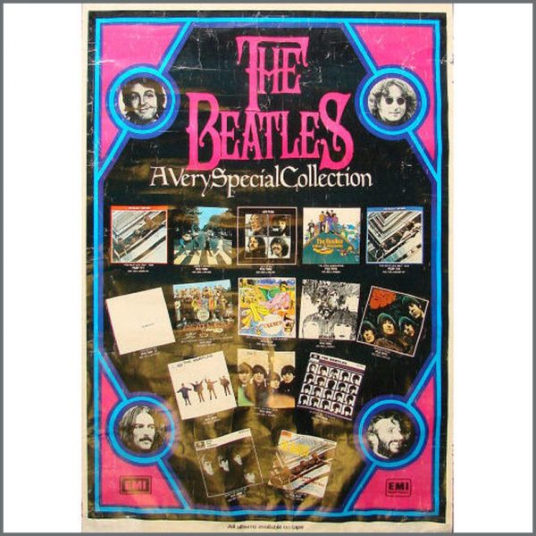 B21177 - The Beatles 1970s A Very Special Collection Poster (UK)