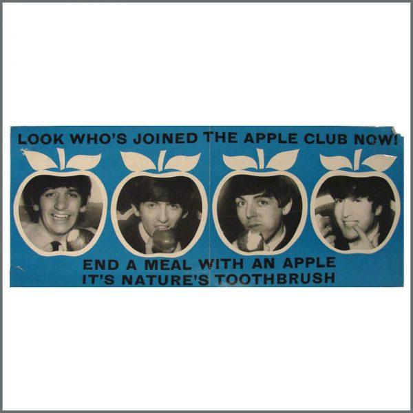 B21508 - Beatles Apple Club British Dental Council Poster (UK)