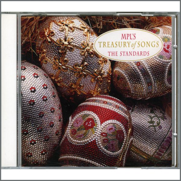 B22087 - Paul McCartney 1992 MPL Treasury Of Songs: The Standards CD (USA)