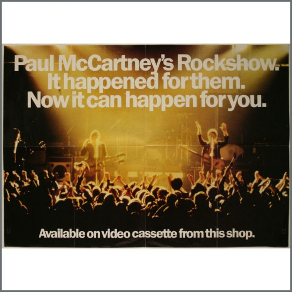 B22143 - Paul McCartney And Wings Rockshow Promotional Poster (UK)