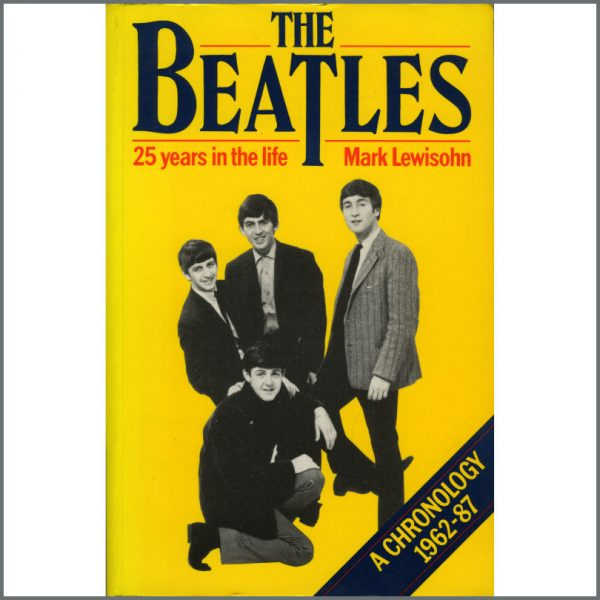 B22149 - The Beatles: 25 Years In The Life Book Review Copy (UK)
