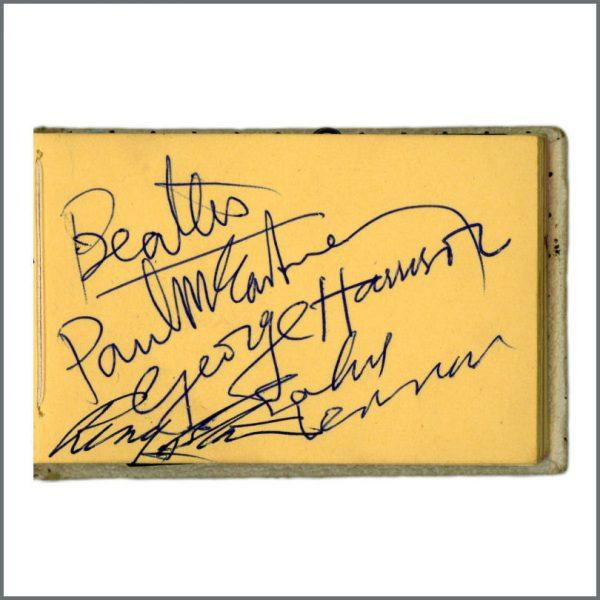 B25114 - The Beatles 1963 Llandudno Autographs (UK)