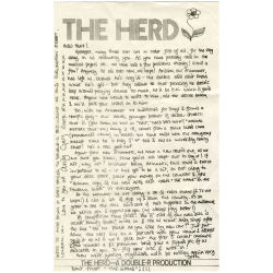 B22999 - The Herd 1960s Fan Club Newsletter