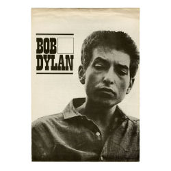 B24405 - Bob Dylan 1964 The Times They Are A-Changin' CBS Press Release