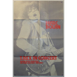 B22096 - T Rex In Concert Promotional Poster (UK)