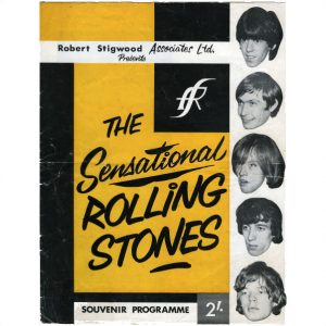 1964 Rolling Stones Programmes