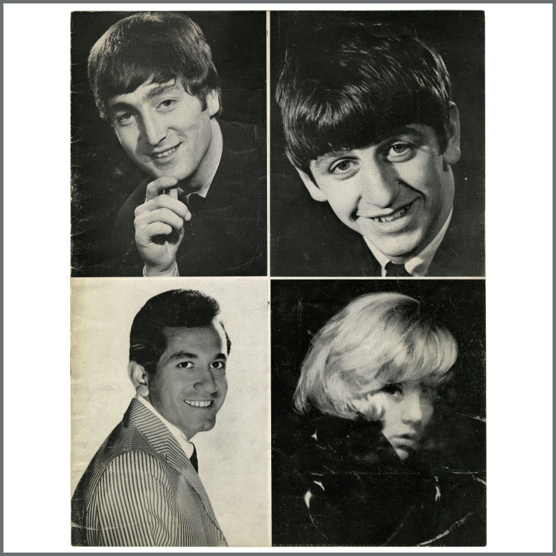 B23785 The Beatles 1964 Paris Olympia Concert Programme France Tracks