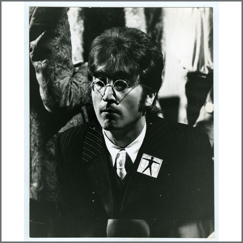 B26509 John Lennon 1967 All You Need Is Love Leslie Bryce Vintage Photograph Uk Tracks