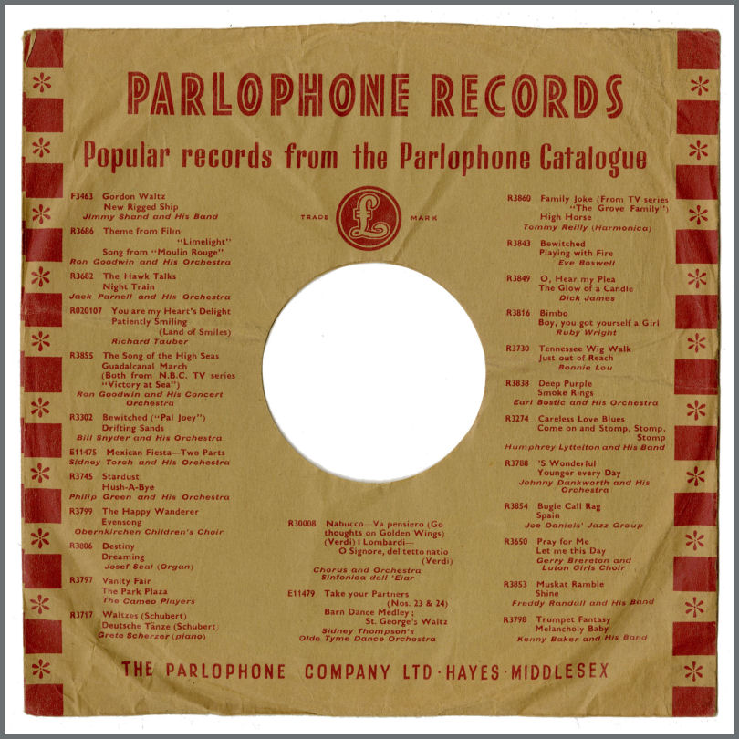 B28082 - The Beatles Love Me Do/It Won't Be Long Parlophone Records 78 RPM  (Philippines)