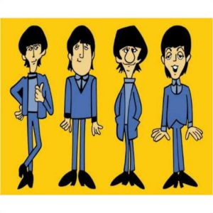Beatles TV Cartoon Series Memorabilia