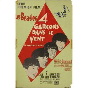 Various Beatles Film Memorabilia